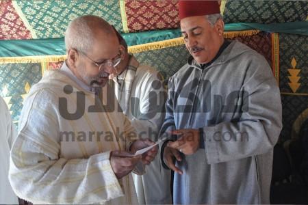 عامل إقليم شيشاوة يسلم شيكا بقيمة 20 مليون سنتيم لفائدة مسجد أيت تافوكت بجماعة أيت هادي+ صور
