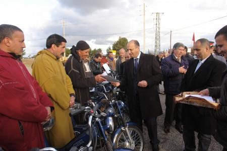 بالصور..عامل إقليم الحوز يشرف على الأنشطة المنظمة بمناسبة اليوم الوطني للسلامة الطرقية