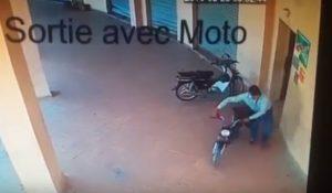 سرقة دراجة نارية