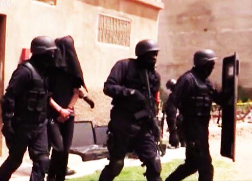 توقيف 12 مشتبها بانتمائهم لشبكة إرهابية وإجرامية بطنجة وكازاØ« عنه