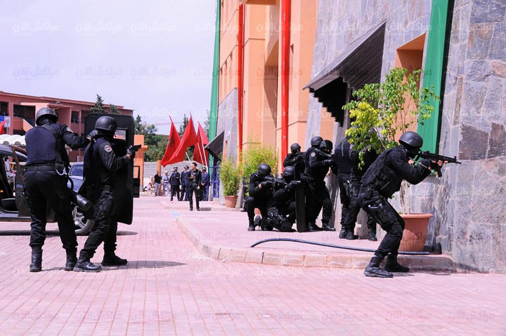 Moroccan Special Forces/Forces spéciales marocaines  :Videos et Photos : BCIJ, Gendarmerie Royale ,  - Page 14 32395177_1049972708474141_8224566152240562176_n-copie