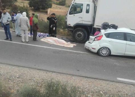 قبيل أذان المغرب..3قتلى في اصطدام رموك بسيارةØ« عنه